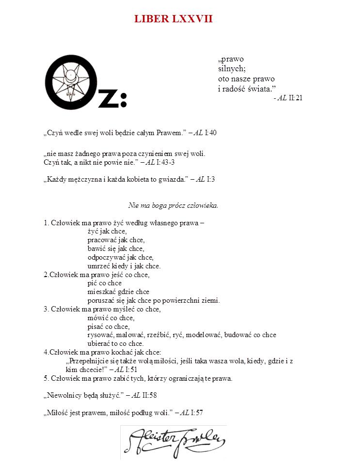 Liber OZ